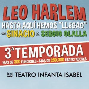HASTA AQUÍ HEMOS LLEGAO - LEO HARLEM