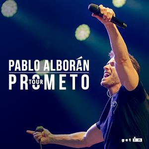 "PABLO ALBORÁN ""TOUR PROMETO"""