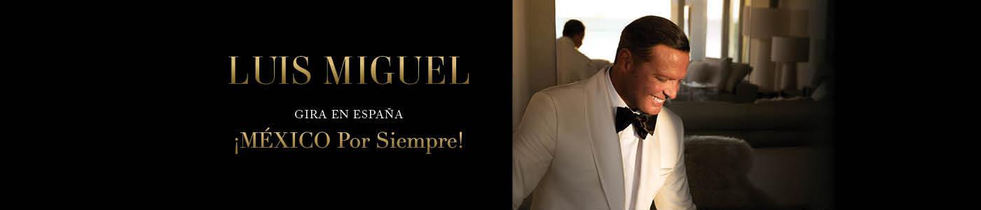 Conciertos Luis Miguel