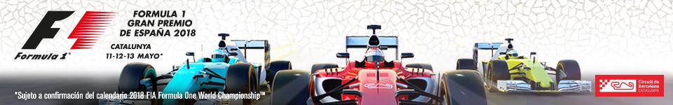 F1 GRAN PREMIO ESPAÑA